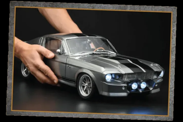 "Buy and Build Your Own 1/8 Scale ""Eleanor"" Model!"